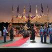 "Susan as the Grand Duchess in Offenbach's "" The Grand Duchess Of Gerolstein"" at Santa Fe Opera / Photo: Ken Howard"